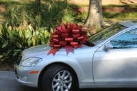 "<p>Car Bow Recipe <br>20 Yards of Each Ribbon <br>Row K - 2 - 6"" Ribbons</p> <p>Center Finger - 1 wrap <br>Finger b Right & Left - 1 wrap <br>Finger 1 Right & Left - 1 wrap <br>Finger b Right & Left - 1 wrap <br>Finger 2 Right & Left - 1 wrap <br>Finger b Right & Left - 1 wrap <br>Finger 3 Right & Left - 1 wrap <br>Finger b Right & Left - 1 wrap <br>Finger 4 Right & Left - 1 wrap <br>Finger b Right & Left - 1 wrap <br>Finger 5 Right & Left - 1 wrap <br>Finger b Right & Left - 1 wrap <br>Finger 6 Right & Left - 1 wrap</p>"