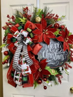 Instructional Video Christmas Wreath Video Christmas Bow Video