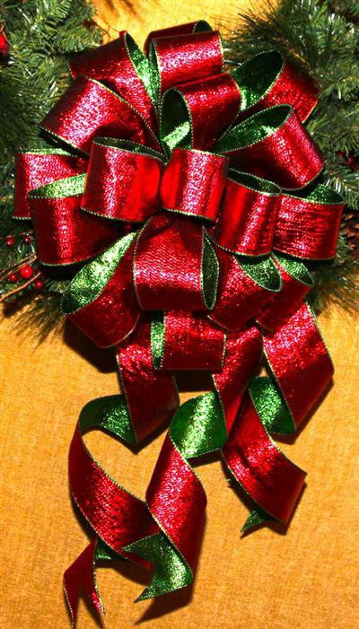 zoom bow recipe large hand - Large Christmas Bows